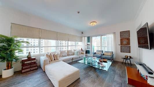 3 Bedroom Flat for Rent in Dubai Marina, Dubai - Only 2% Commission | Fully-upgraded | Marina views