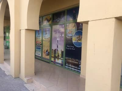 Shop for Rent in International City, Dubai - Stunning Location Semi Furnished Shop available with Front View