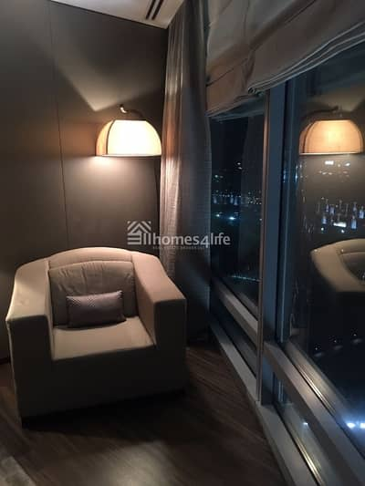 1 Bedroom Hotel Apartment for Sale in Downtown Dubai, Dubai - Fully Furnished and Serviced 1 Bedroom Plus Study in Armani Residence
