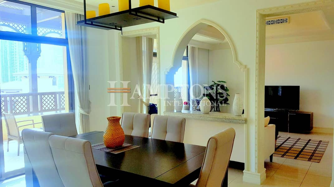 2 2BR Furnished|Terrace with Private Jacuzzi
