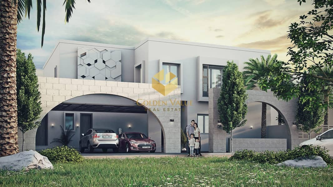 2 5 Years Free Service Charges | 5600 monthly instalment | Smart  villa 4 bedroom