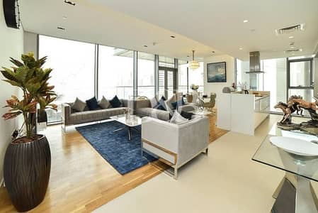 3 Bedroom Apartment for Rent in Bluewaters Island, Dubai - Furnished | Brand New | Ain Dubai+JBR View