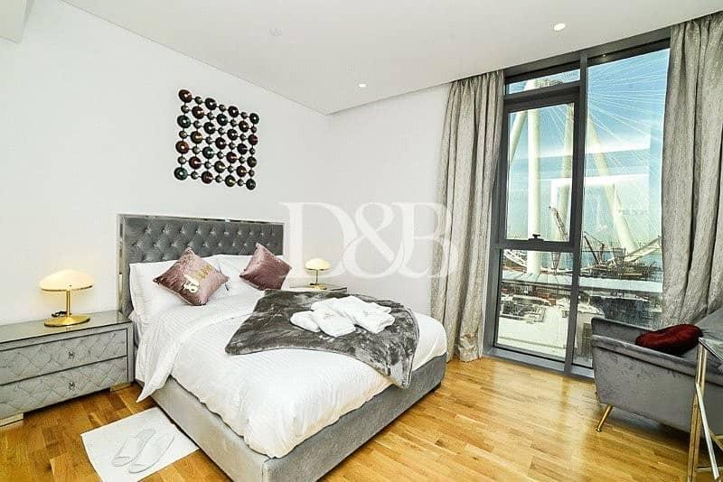 10 Furnished | Brand New | Ain Dubai+JBR View