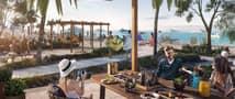 9 Super Luxury 1 BR Full Sea View | Direct Beach Access