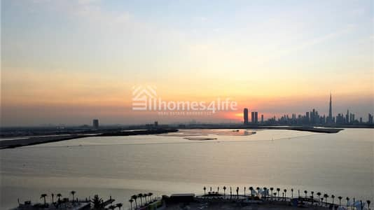 2 Bedroom Flat for Sale in The Lagoons, Dubai - Beautiful Sunsets Everyday|Full Creek View