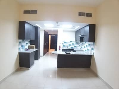 Studio for Rent in Muwaileh, Sharjah - Huge studio with balcony for rent in al zahia - with pool - parking - gym - kids play area