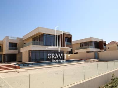 7 Bedroom Villa for Sale in Saadiyat Island, Abu Dhabi - Own this world class Villa Just along the shore