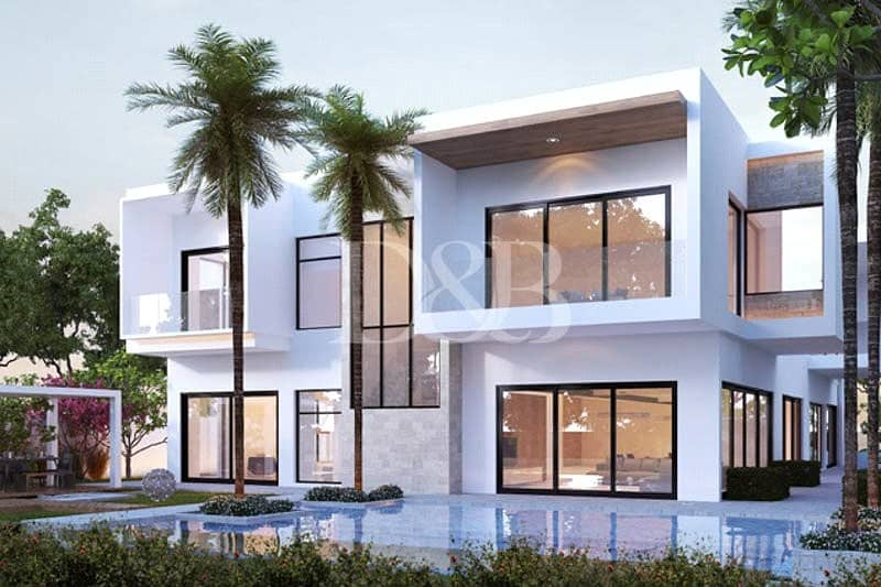 2 Upgreaded Design  Contemporary Villa  payment plan