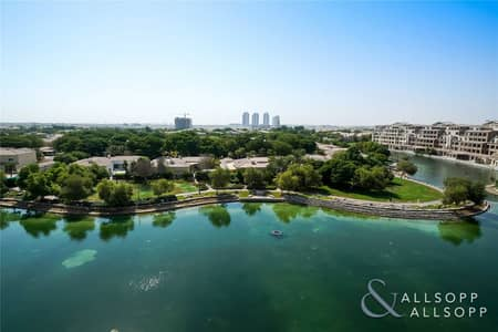4 Bedroom Apartment for Sale in Motor City, Dubai - Upgraded Duplex | 4 Beds | Full Lake View