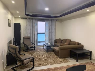 1 Bedroom Apartment for Sale in Corniche Ajman, Ajman - DISTRESS DEAL !!!!  SEA VIEW ONE BEDROOM HALL AVAILABLE FOR SALE IN CORNICHE TOWER, AJMAN 415000/-