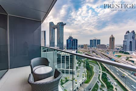 1 Bedroom Apartment for Sale in Downtown Dubai, Dubai - Address Blvd | 1 Bed | High Floor | DIFC View