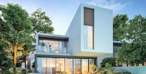 4 Bedroom Villa for Sale in Aljada, Sharjah - 4 Br. Corner Sarab Villa in the Heart of Sharjah   Al Jada