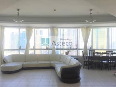 4 Bedroom Flat for Sale in Dubai Marina, Dubai - mAIDROOM | bALCONY | oN hIGH fLOOR