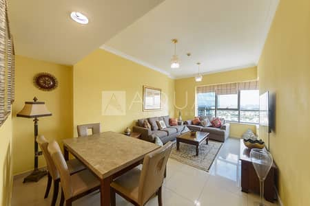 شقة 1 غرفة نوم للايجار في أبراج بحيرات الجميرا، دبي - Luxurious | Furnished Unit | Golf Course Views