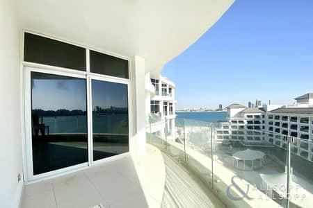 فلیٹ 1 غرفة نوم للايجار في نخلة جميرا، دبي - Double Balcony | Beach Access | 1 Bedroom