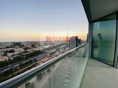 1 Bedroom Apartment for Rent in Danet Abu Dhabi, Abu Dhabi - FIRST TENANT.: One Bedroom Apartment with Kitchen Appliances