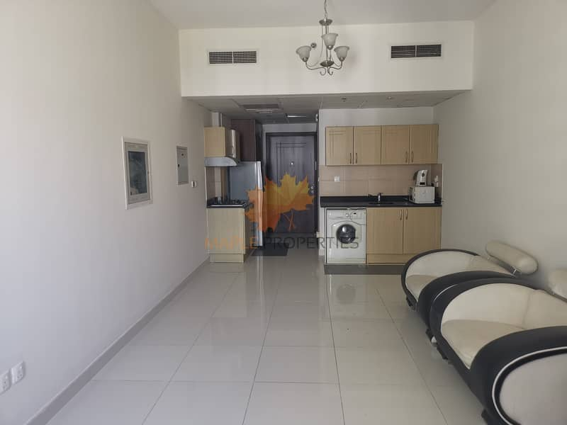 Semi Furnished Studio For Rent In Elite residences 01