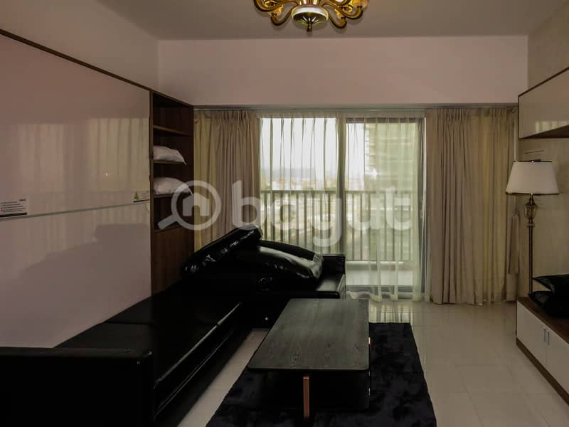 2 Brand New | Fully Furnished Studio | (Convertible Bed)