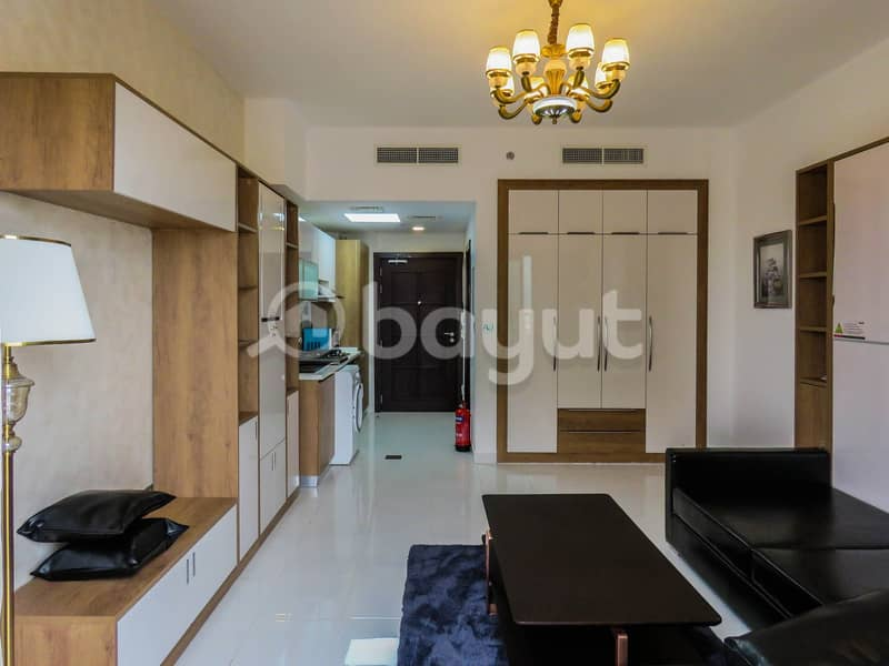 14 Brand New | Fully Furnished Studio | (Convertible Bed)
