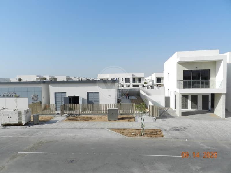 Corner unit next to the community facilities