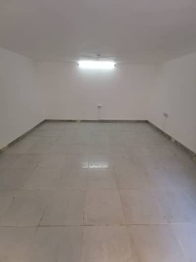 Studio for rent new unit , including water and electricity in nahyan area road 12 paymen