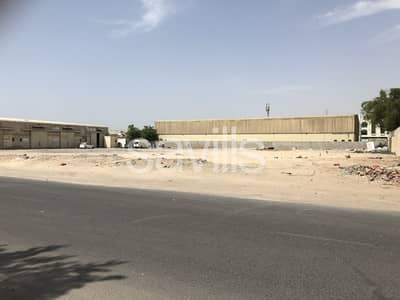 Plot for Sale in Industrial Area, Sharjah - Plot with direct access to E311 highway