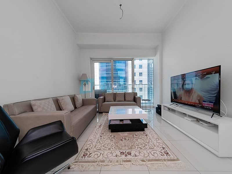 2 Partial sea view |1BR for rent with new furniture