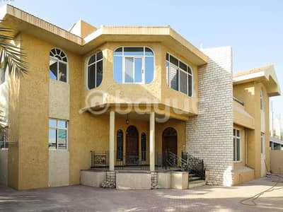 Villa in Sharjah, Al Azra area, with a total area of approximately 10,000 square feet (commercial - residential)