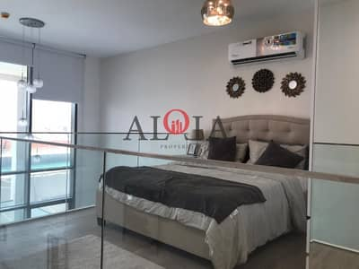 1 Bedroom Flat for Sale in Al Raha Beach, Abu Dhabi - Fully furnished 1 BR with private Jacuzzi