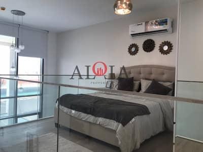 فلیٹ 1 غرفة نوم للبيع في شاطئ الراحة، أبوظبي - Fully furnished 1 BR with private Jacuzzi