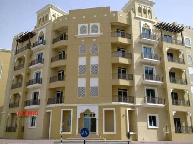 GOOD RENTED LARGE 1 BEDROOM+WITH BALCONY FOR SALE IN EMIRATES CLUSTER =01
