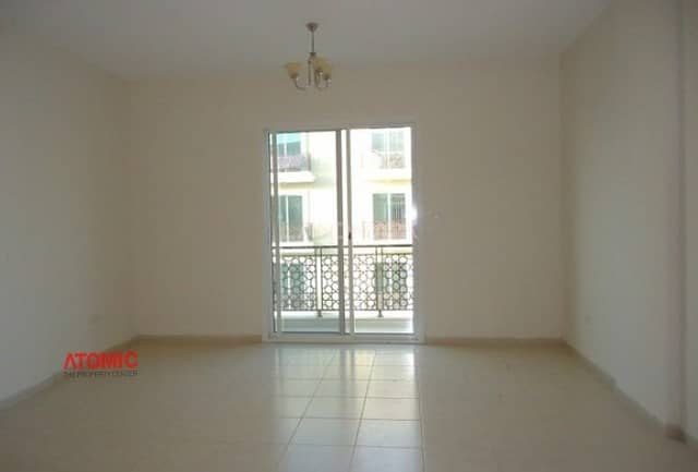 2 GOOD RENTED LARGE 1 BEDROOM+WITH BALCONY FOR SALE IN EMIRATES CLUSTER =01