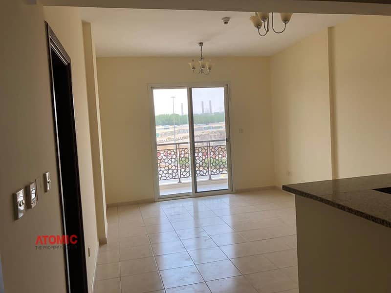 11 GOOD RENTED LARGE 1 BEDROOM+WITH BALCONY FOR SALE IN EMIRATES CLUSTER =01