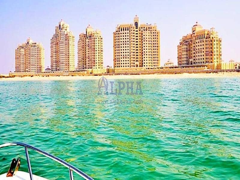 Furnished 2 Bedroom   Mesmerizing Sea View!