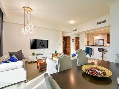 شقة 2 غرفة نوم للايجار في وسط مدينة دبي، دبي - High Floor l 08 Series l Facing sea views