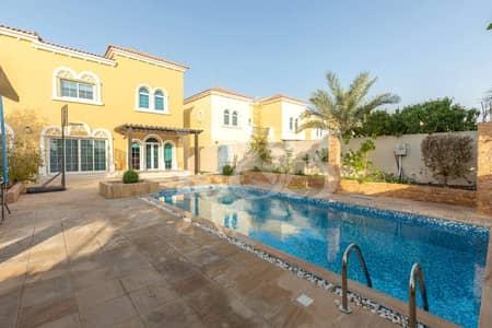 4 Bedroom Villa for Sale in Jumeirah Park, Dubai - PRIVATE POOL | SINGLE ROW | HUGE PLOT WITH GARDEN