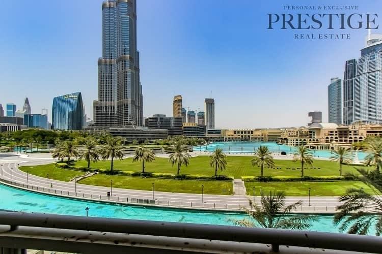 18 Full Burj Khalifa & Fountain View | 3 Bed + Maid