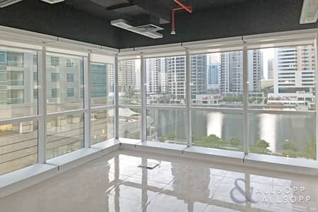 Office for Sale in Jumeirah Lake Towers (JLT), Dubai - Fully Fitted | Glass Partitioned | Lake Views