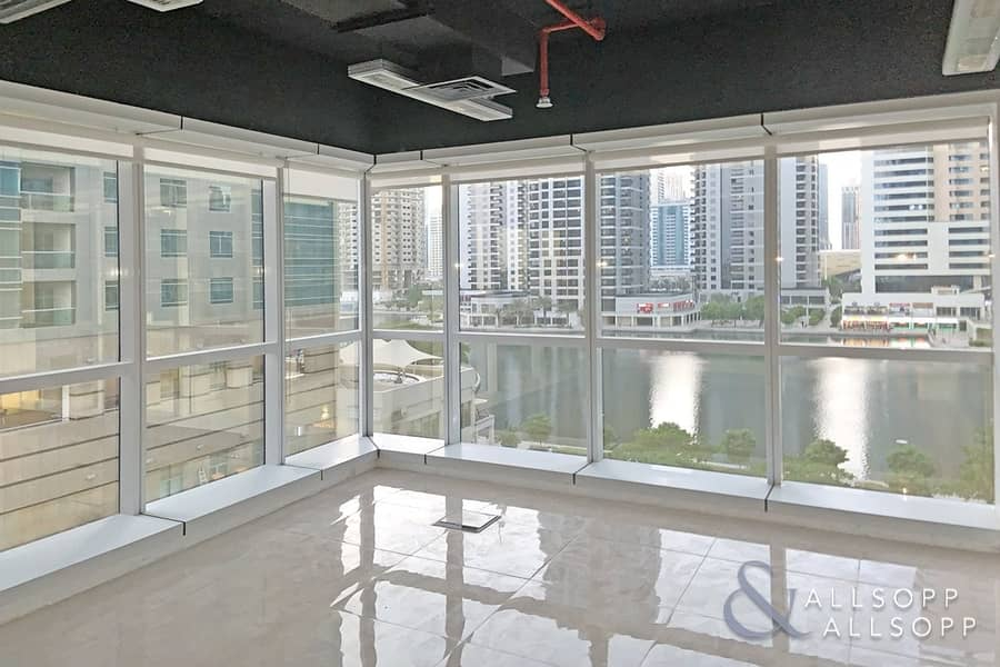 Fully Fitted | Glass Partitioned | Lake Views