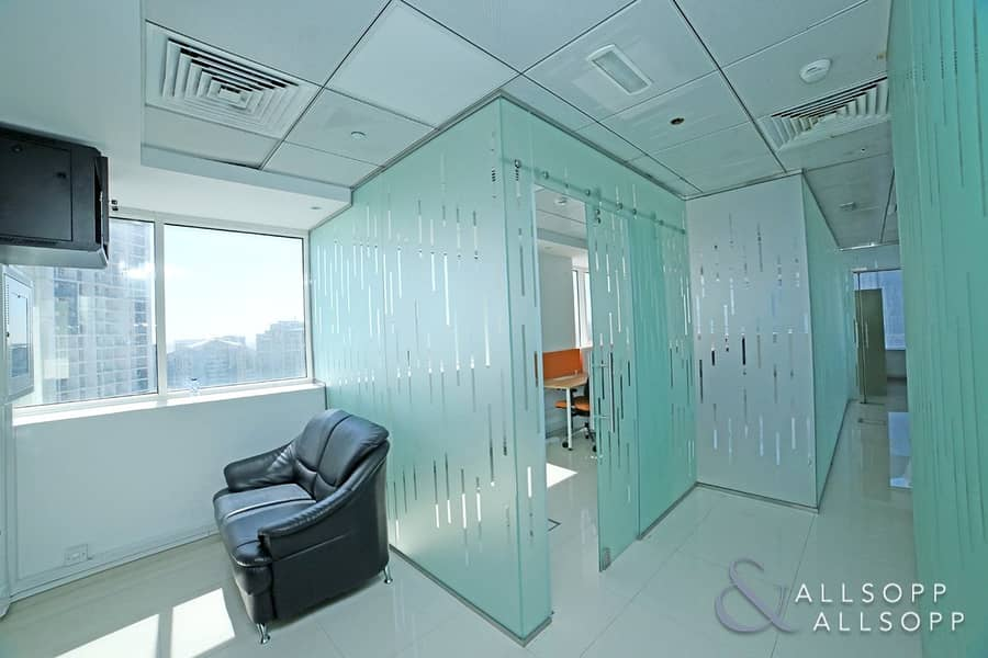2 Fitted | Floor To Celling Partitions | Bright