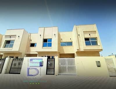 فیلا 5 غرف نوم للايجار في الياسمين، عجمان - فيلا تشطيب سوبر ديلوكس اول ساكن بالمكيفات على الشارع القار