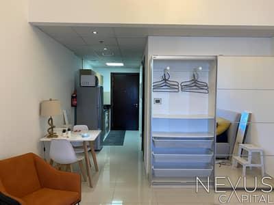 استوديو  للايجار في مدينة دبي الرياضية، دبي - High Floor | Fully Furnished | Flexible Payment Option