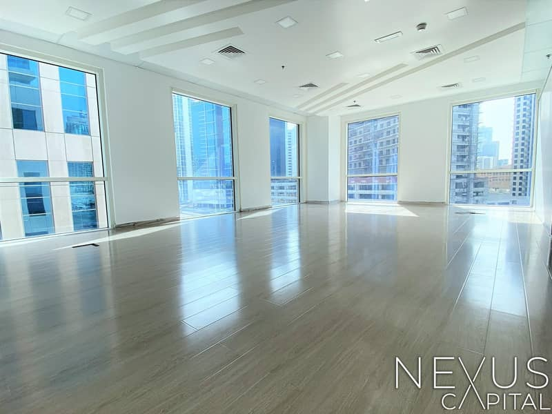 Fully Fitted Office | with Glass Partitioned | A Big Conference Room