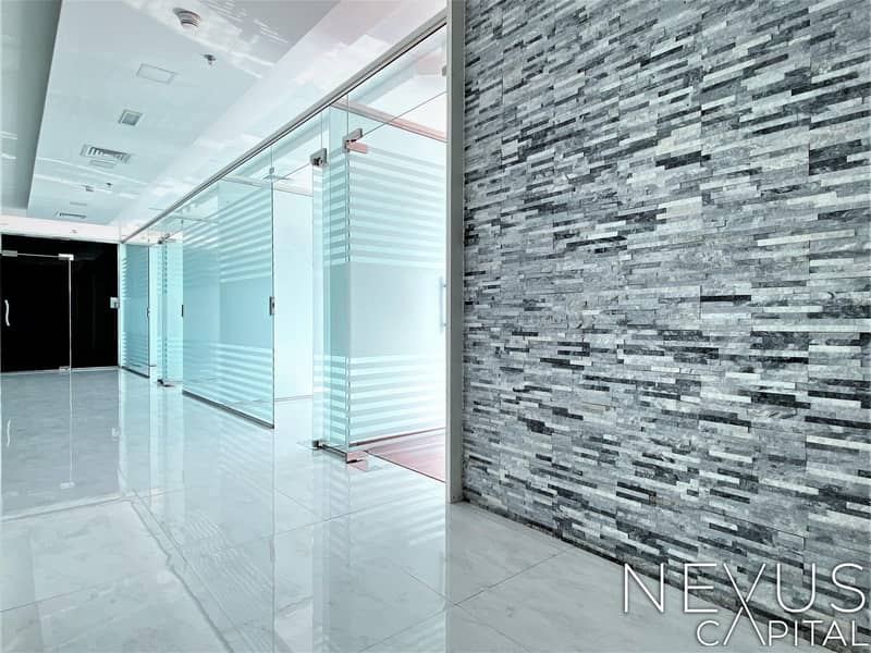 17 Fully Fitted Office | with Glass Partitioned | A Big Conference Room