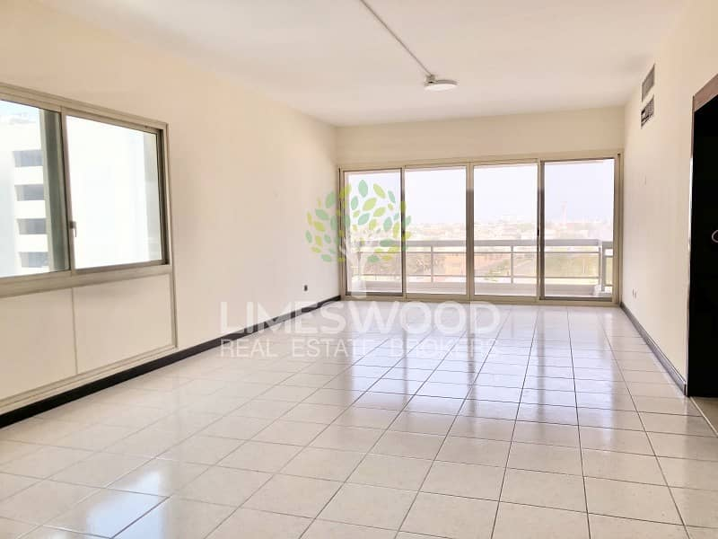 Chiller free and 1 month free 3br Twin Tower SZR