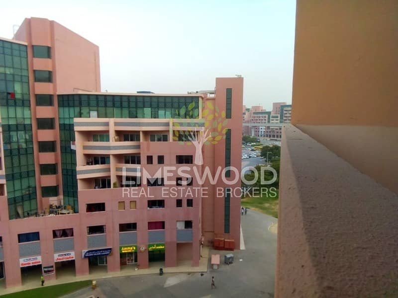 Great Location |Studio With Balcony|Pink Building
