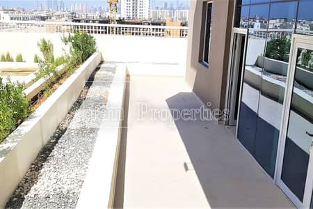 2 Bedroom Apartment for Rent in Al Furjan, Dubai - Brand new 2 BR | Large Terrace | Pool view