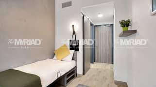 Student Accommodation | 'Single Room' - Male Block | The Myriad Dubai