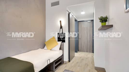 Studio for Rent in Academic City, Dubai - Student Accommodation | 'Single Room' - Male Block | The Myriad Dubai