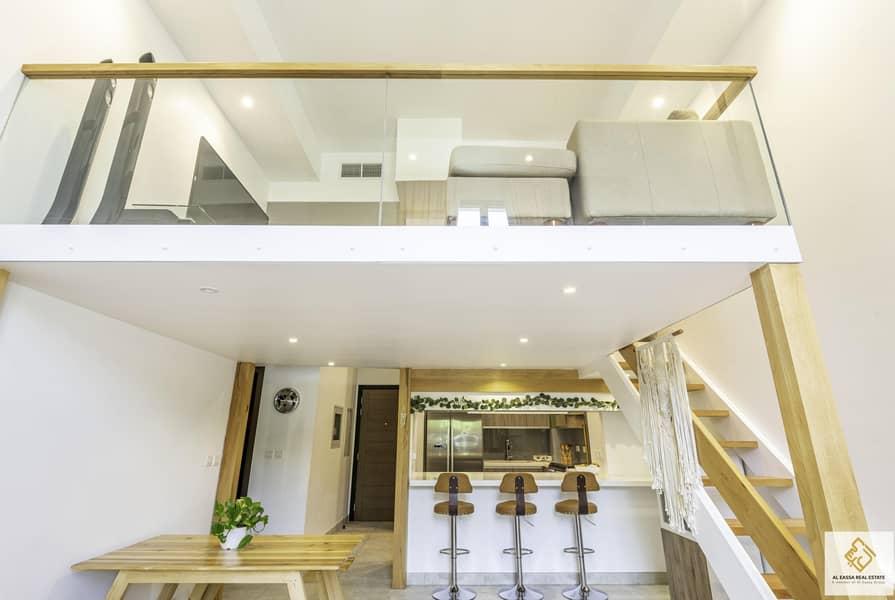 2 Upgraded 3 Bedroom Duplex + Maid|Luxury Design